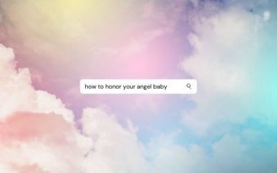 Honor your angel baby: 5 creative ideas